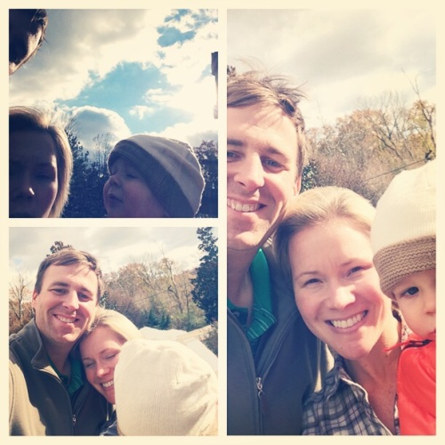 Gosh, we are so horrible at taking family selfies...