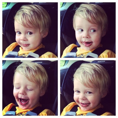 The many (chocolate covered) faces of Asher Wade